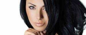 cheveux noirs